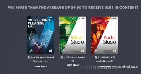 MAGIX Video Music Software Bundle 2019 WiN