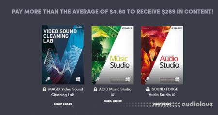 MAGIX Video Music Software Bundle 2019