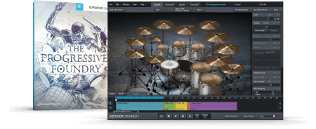 Toontrack The Progressive Foundry SDX Superior Drummer