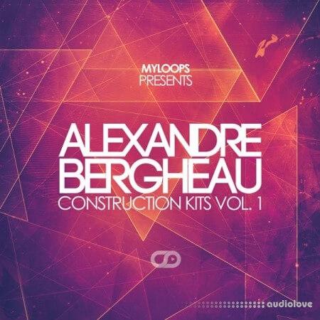 Myloops Alexandre Bergheau Construction Kits Vol.1 WAV MiDi
