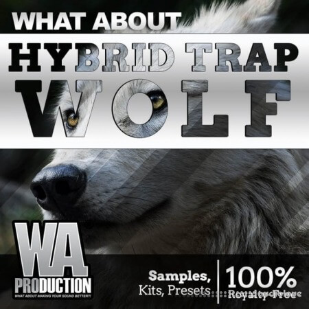 WA Production Hybrid Trap Wolf WAV MiDi Synth Presets DAW Templates