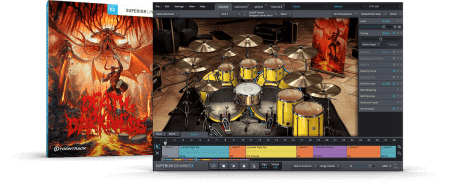 Toontrack DEATH and DARKNESS SDX Darkness part Superior Drummer