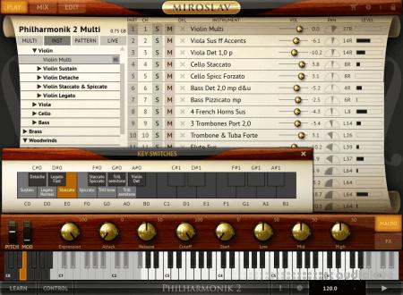IK Multimedia Miroslav Philharmonik 2 Sound Content HYBRID WiN MacOSX