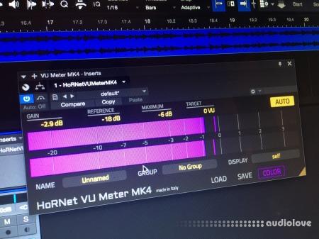 HoRNet VU Meter MK4 v4.1.0 RETAiL WiN MacOSX