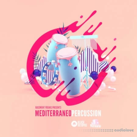 Black Octopus Sound Mediterraneo Percussion by Basement Freaks