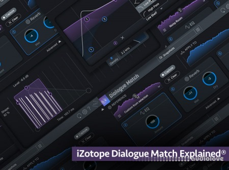 Groove3 iZotope Dialogue Match Explained TUTORiAL