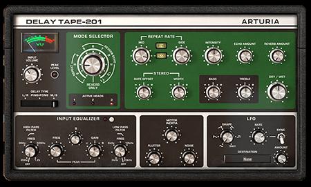 Arturia Delay TAPE-201 v1.0.0.758 MacOSX