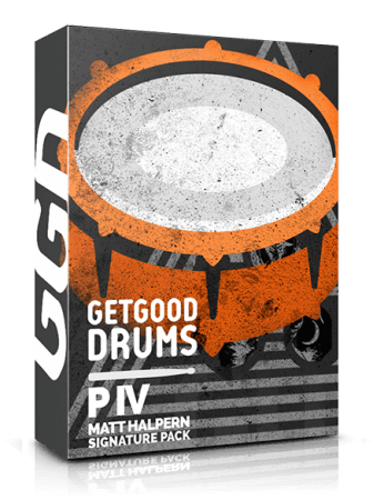GetGood Drums P IV Matt Halpern Signature Pack