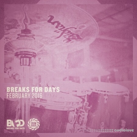 The Drum Sample Broker Breaks for Days February 2016 WAV