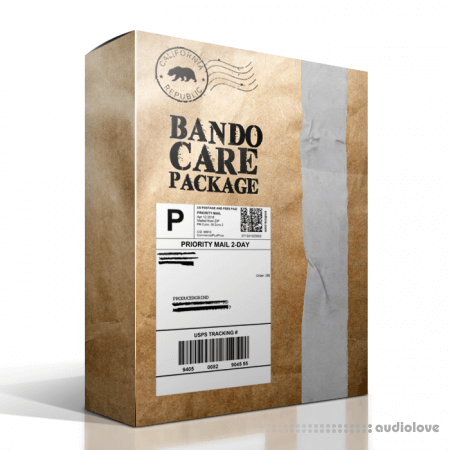 Producergrind Bando Care Package Premium Drum Kit