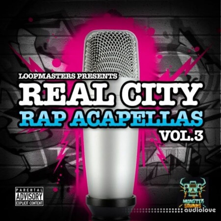 Monster Sounds Real City Rap Acapellas Vol.3 MULTiFORMAT