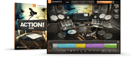 Toontrack Action! EZX v1.0.1 Superior Drummer EZDrummer