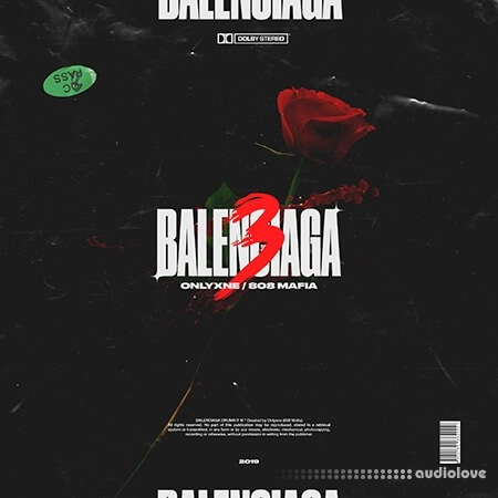Onlyxne 808MAFIA BALENCIAGA Drumkit III