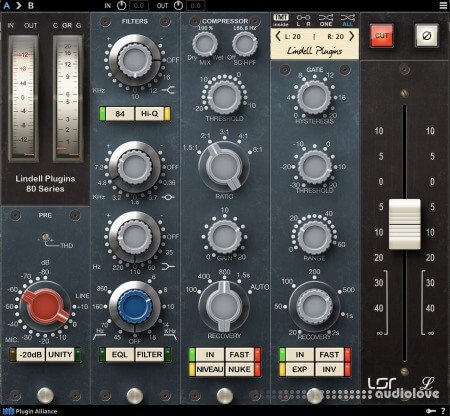 Lindell Audio 80 Series v1.0.0 WiN