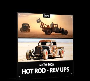 Boom Library Hot Rod Rev Ups
