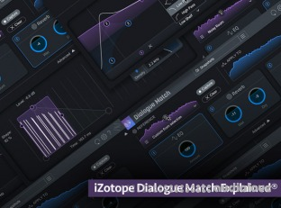 Groove3 iZotope Dialogue Match Explained