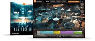 Toontrack Drums of Destruction EZX