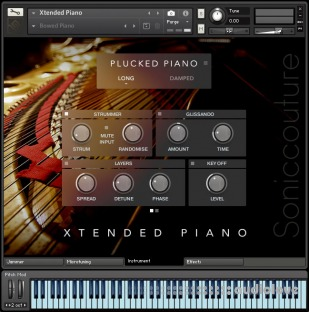 Soniccouture Extended Piano