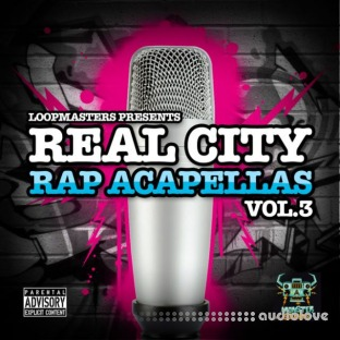 Monster Sounds Real City Rap Acapellas Vol.3