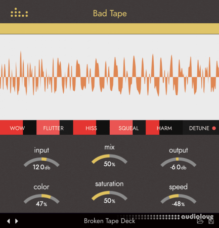 Denise Audio Bad Tape v1.0.1 WiN MacOSX