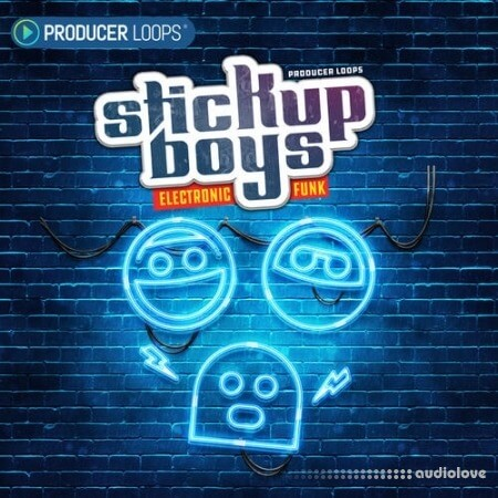 Producer Loops Stick Up Boys Electronic Funk