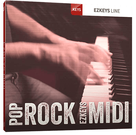 Toontrack Pop Rock EZkeys MiDi WiN