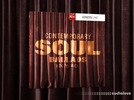 Toontrack Contemporary Soul Ballads EZkeys MiDi WiN
