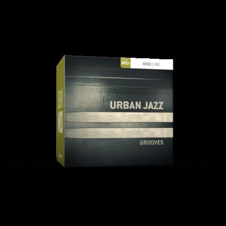 Toontrack Urban Jazz Grooves MiDi WiN MacOSX