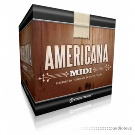 Toontrack Americana MiDi MiDi WiN MacOSX