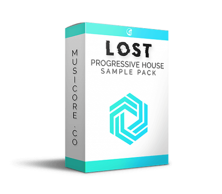 MusiCore LOST Progressive House Sample Pack WAV Synth Presets DAW Templates