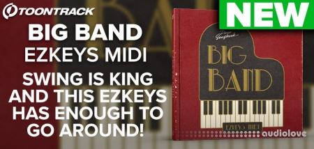 Toontrack Big Band EZkeys MiDi MiDi WiN MacOSX