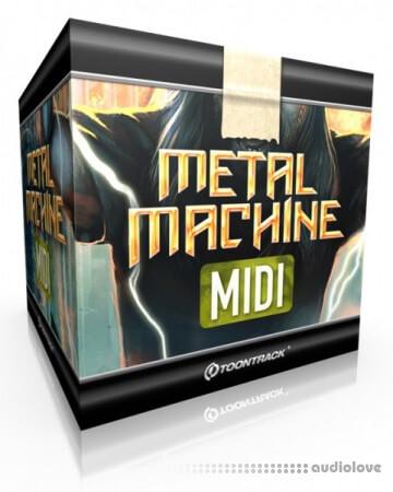 Toontrack Metal Machine MiDi MiDi WiN MacOSX
