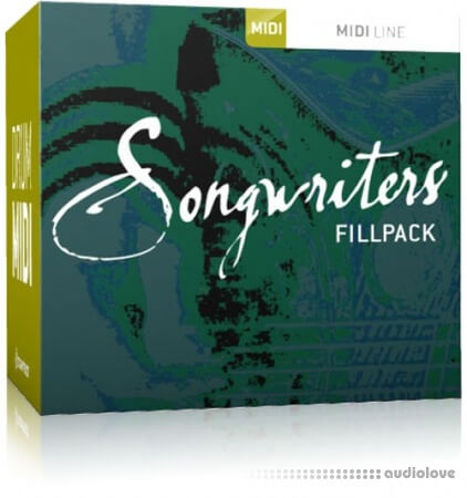 Toontrack Songwriters Fillpack 2 MiDi MiDi WiN MacOSX