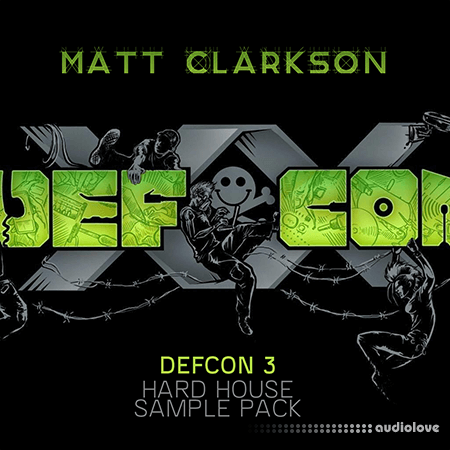 Matt Clarkson Defcon 3 Sample Pack WAV MiDi