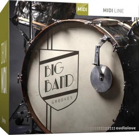 Toontrack Big Band Grooves MiDi MiDi WiN MacOSX