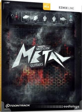 Toontrack Modern Metal Guitars EZmix Pack
