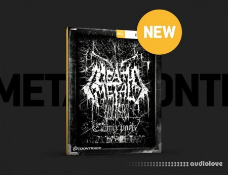 Toontrack Death Metal Guitars EZmix Pack