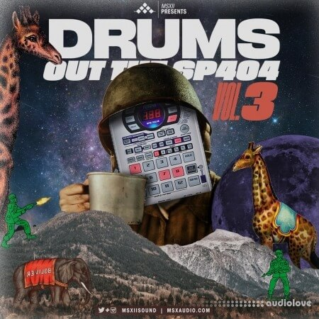 MSXII Drums Out The SP404 Vol.3