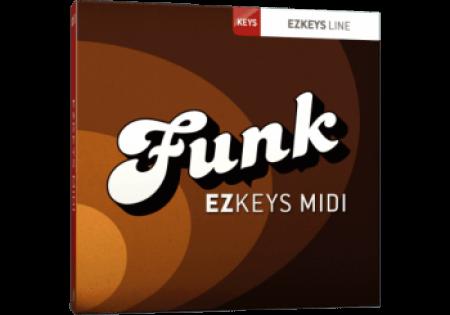 Toontrack Funk EZkeys MiDi WiN MacOSX