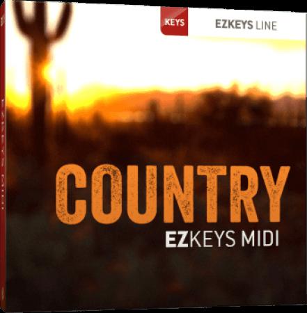 Toontrack Country EZkeys MiDi WiN MacOSX