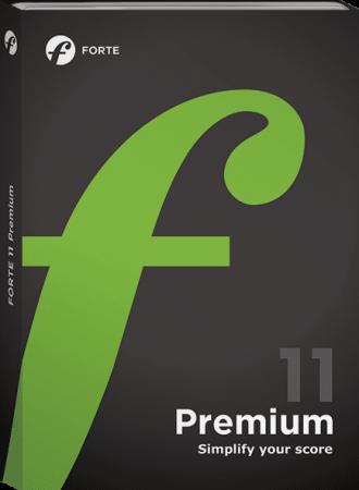 FORTE Notation FORTE 11 Premium v11.1.1 WiN