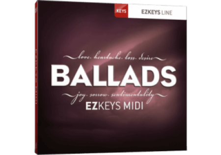 Toontrack Ballads EZkeys MiDi WiN MacOSX