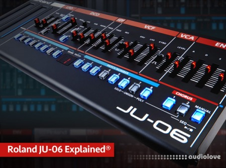 Groove3 Roland JU-06 Explained TUTORiAL