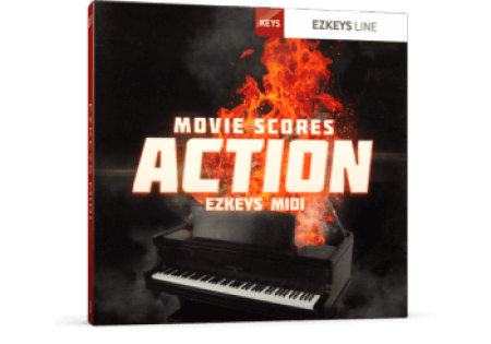 Toontrack Movie Scores Action EZkeys MiDi WiN MacOSX
