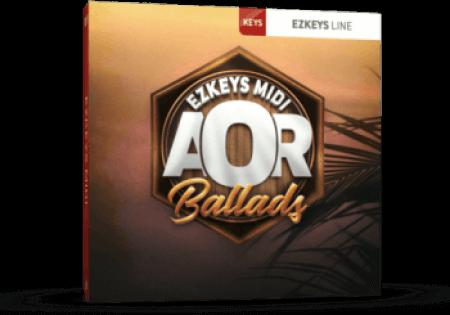 Toontrack AOR Ballads EZkeys MiDi MacOSX