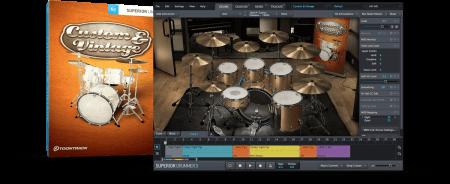 Toontrack Superior Drummer Custom And Vintage SDX v1.5 / v1.0 Superior Drummer