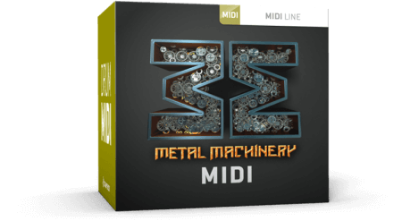 Toontrack Metal Machinery MiDi MiDi WiN MacOSX