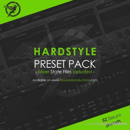 HB Secret Productions Hardstyle Synth Presets MiDi