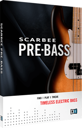 Native Instruments Scarbee Pre-Bass v1.2.0 KONTAKT