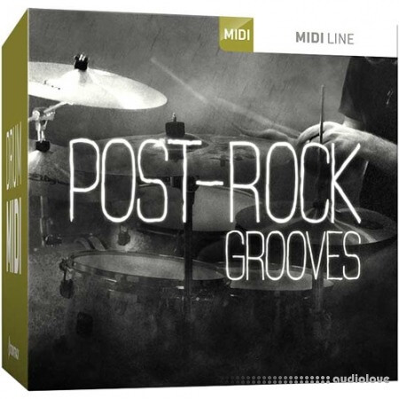 Toontrack Post-Rock Grooves MiDi WiN MacOSX
